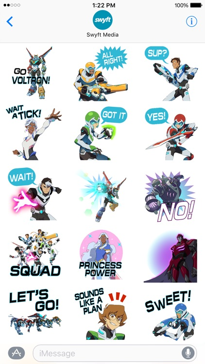 Voltron Stickers screenshot-1