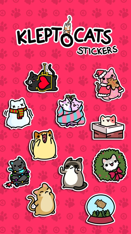 KleptoCats Stickers