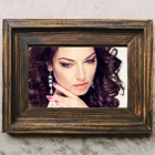 Wooden Photo Frames Editor & Wood Picture Effects icon