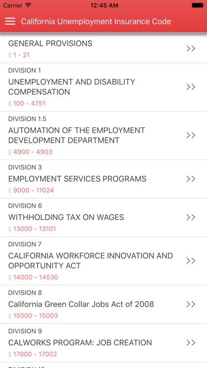 California Unemployment Insurance Code