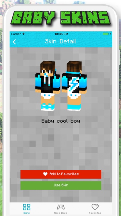 Baby Skins for Minecraft PE - Pocket Edition screenshot-3