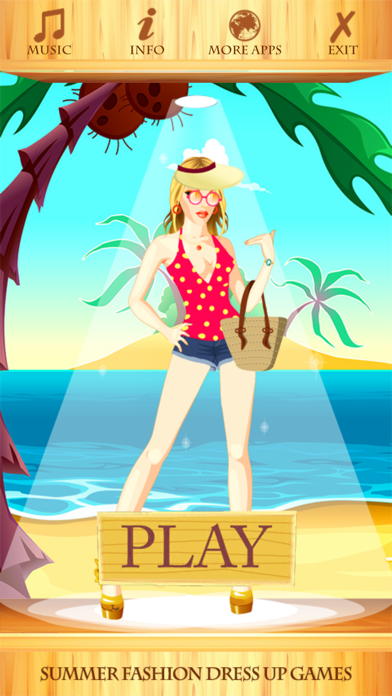 Summer Fashion Dress Up Games screenshot two