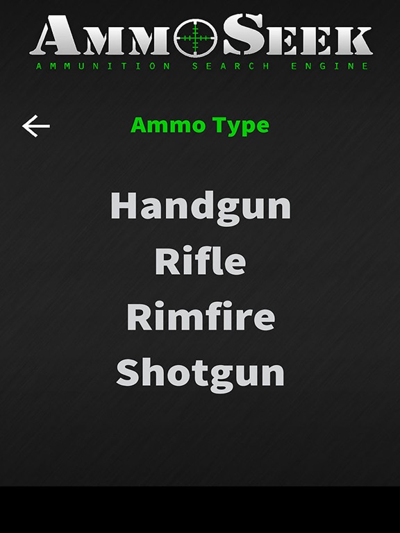 AmmoSeek - Ammo Search Engine screenshot