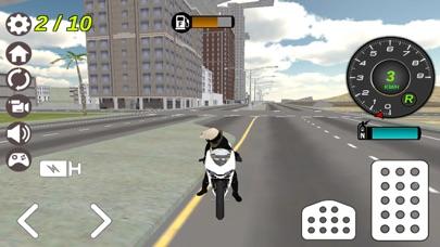 Police Motor-Bike City Simulator 2のおすすめ画像3