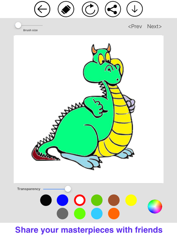 Recolor - Colory Book For Kids and Adults screenshot 10
