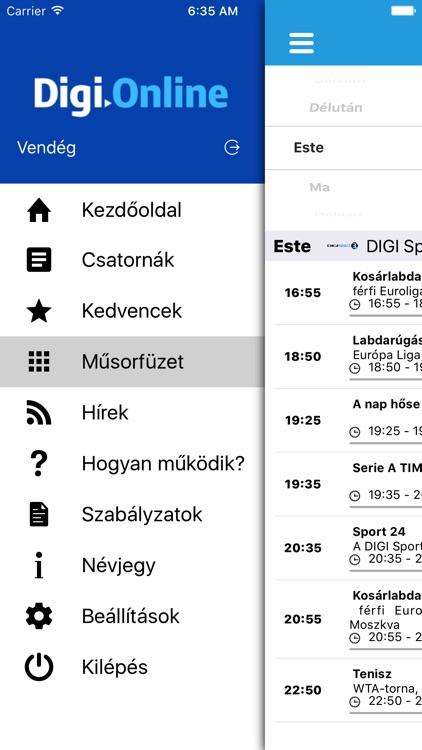 DIGI Online HU screenshot-4