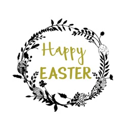 Happy Easter Christian Messages Stickers