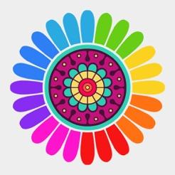 Büyükler Için Boyama Kitabı Renkli Sayfaları App Storeda