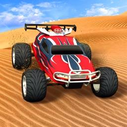 ATV 3D Action Car Desert Traffic Racer Racing Game