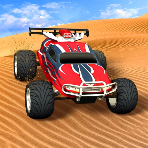 ATV 3D Action Car Desert Traffic Racer Racing Game iOS App