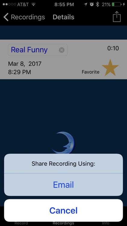 Do I Sleep Talk: Record snore and sleep talking screenshot-4