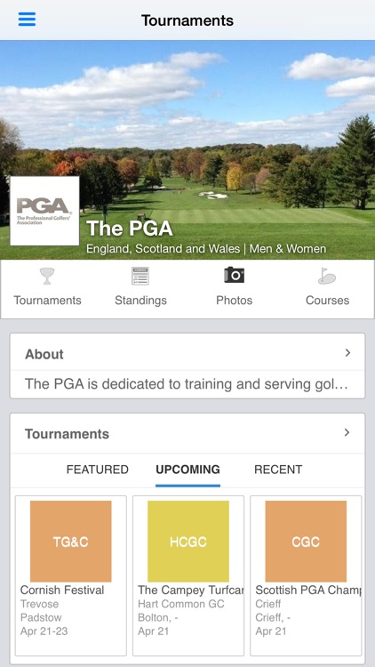 The PGA screenshot-0
