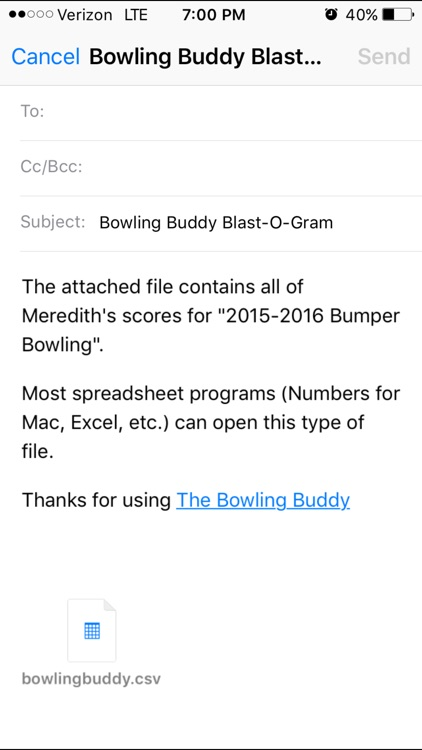 The Bowling Buddy screenshot-2
