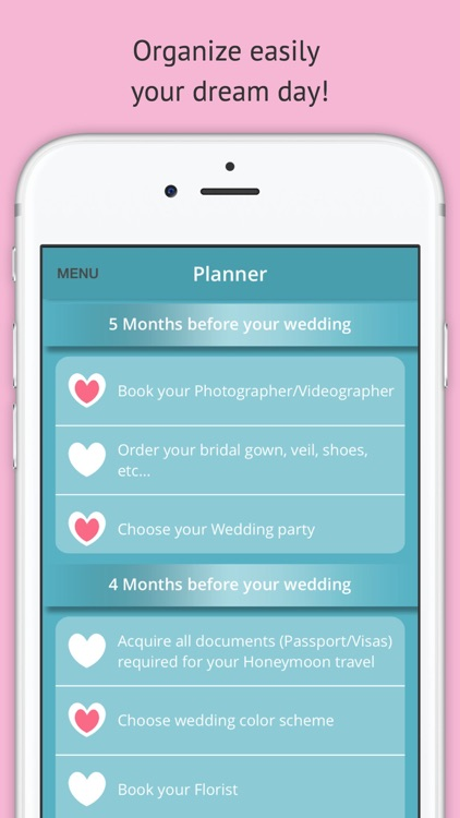 My Wedding Planner: Checklist, budget, guests…