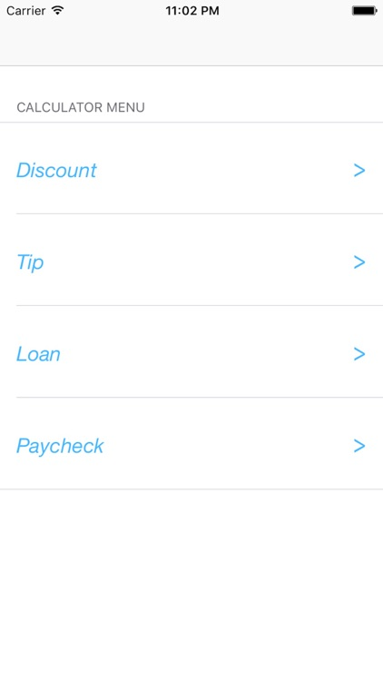 Easy Calx: Discounts, Tips, Loans & Paycheck