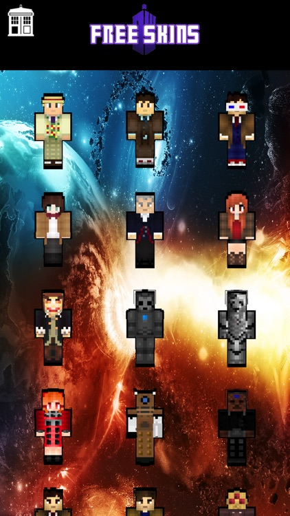 Skins for Dr Who for Minecraft Pocket Edition screenshot-3