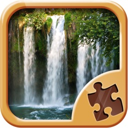 Waterfall Jigsaw Puzzles - Nature Picture Puzzle