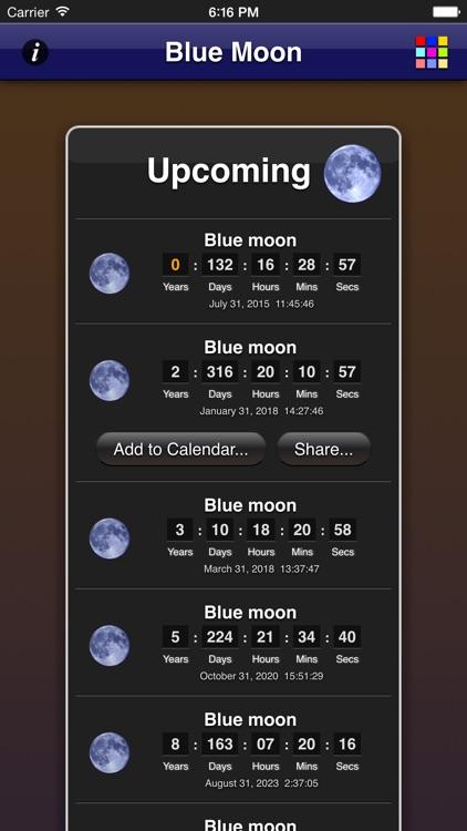 Blue Moon App