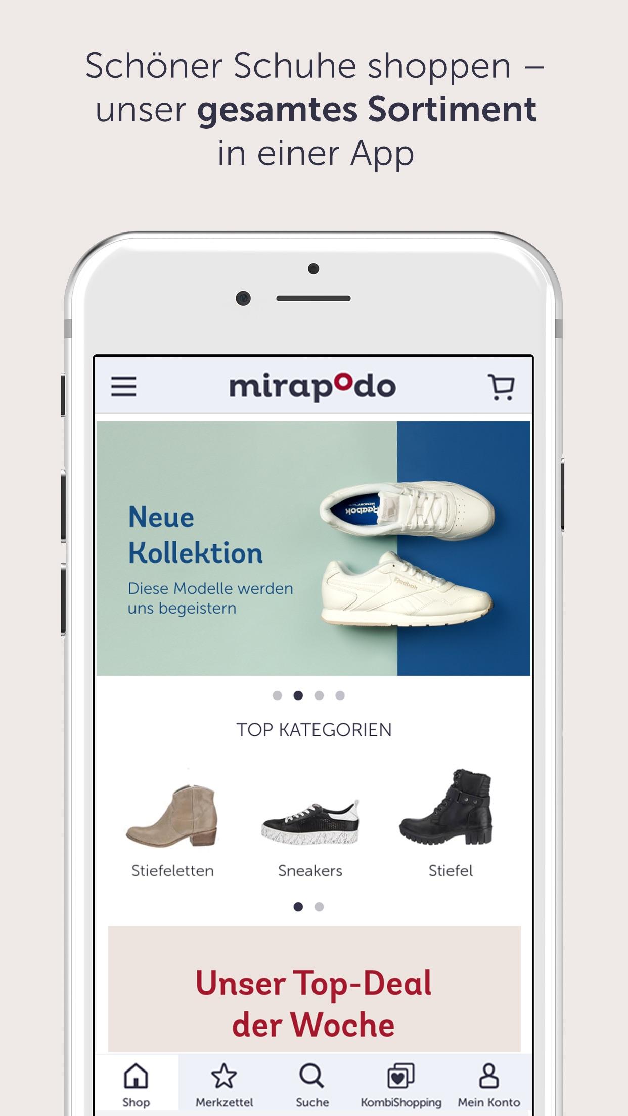 mirapodo Schuhe, Sneaker & Stiefel Shop by myToys GmbH
