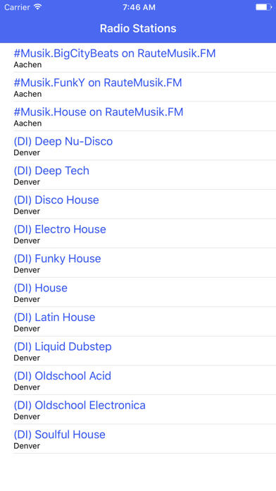 Radio Channel House FM Online Streaming screenshot one