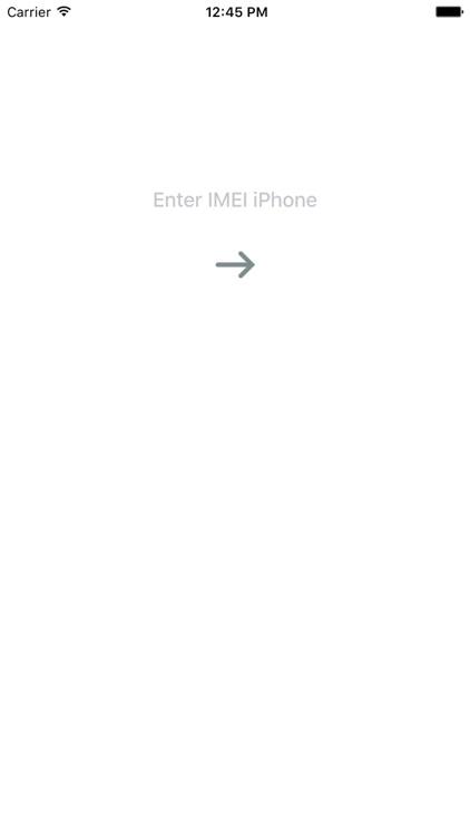 IMEI check