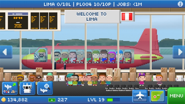 Pocket planes airline management by nimblebit llc.