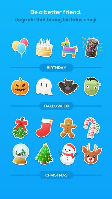 Animated Emojis Sticker List