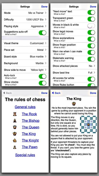 Chess Lite - with coach screenshot-4