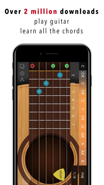 guitar chords tabs by uniqueapps. Black Bedroom Furniture Sets. Home Design Ideas