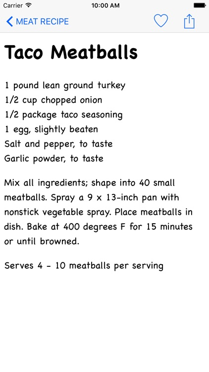 Meat Recipe screenshot-2