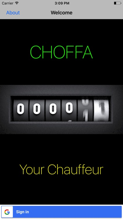 Choffa - Your personal chauffeur
