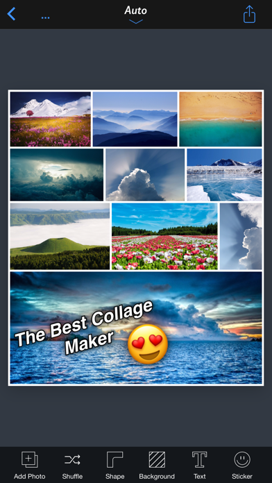 InstaFrame+ Pro - All In One Collage Maker ScreenShot0