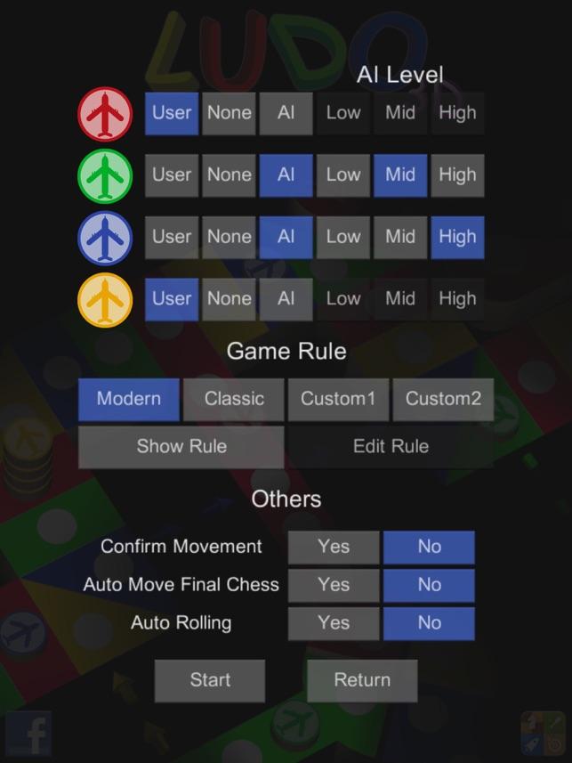 Ludo 3D : Aeroplane Chess Screenshot