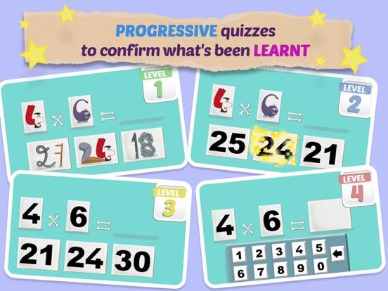 Mathemagics Multiplication screenshot 9