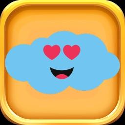 Cloud Stickers - Cloud Emojis Pack