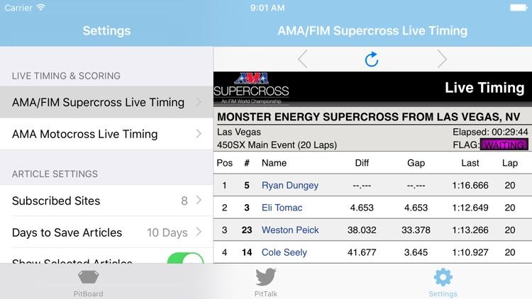 PitBoard - Motocross and Supercross News screenshot-4