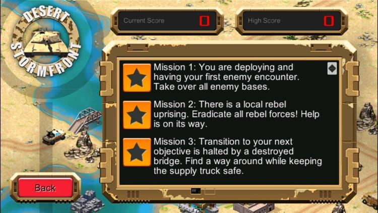 Desert Stormfront (RTS) screenshot-4