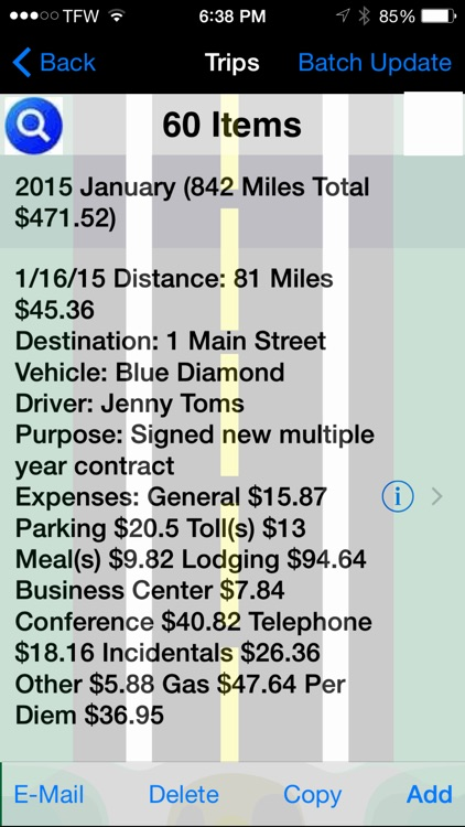 Track My Mileage And Expenses