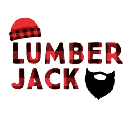 Lumberjack Stickers - Props and Selfie Accessories