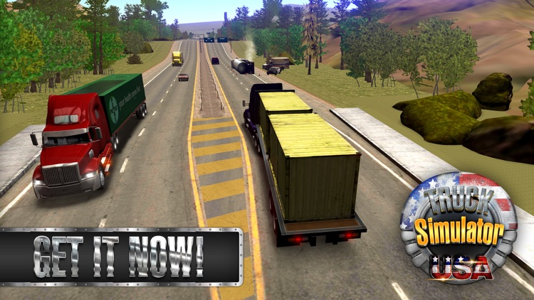 Truck Simulator USA screenshot-4