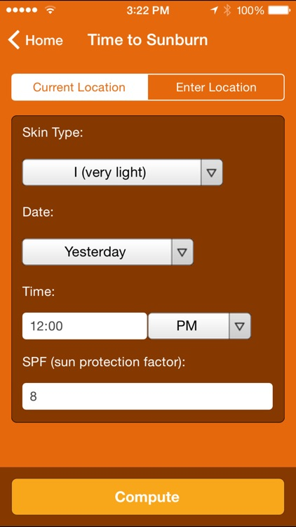 Wolfram Sun Exposure Reference App screenshot-1