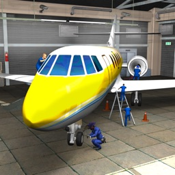 Plane Mechanic Simulator 3D Repair Garage Workshop