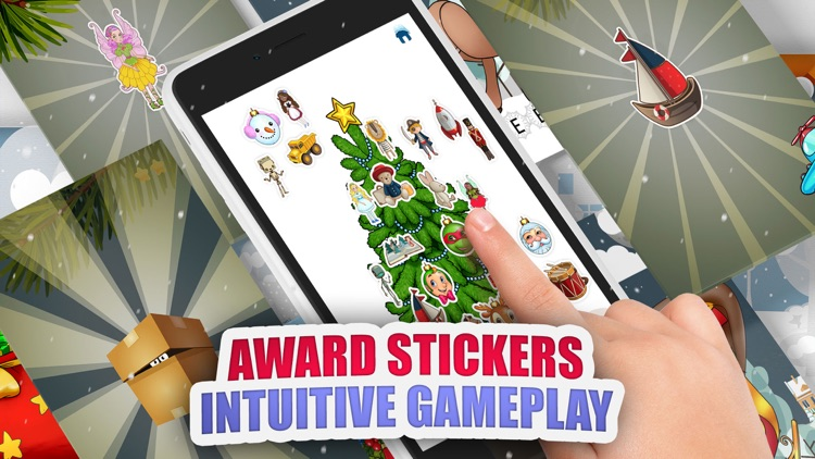 Moona Puzzles Christmas Music, Games for Kids Free screenshot-4