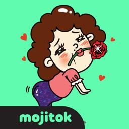 Charming Ms.Bongsuk Stickers