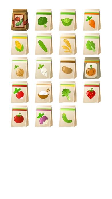 Einkaufstasche Sticker PackScreenshot von 1