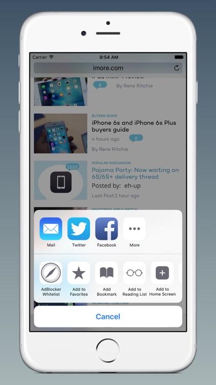 AdBlocker for Safari! screenshot-3