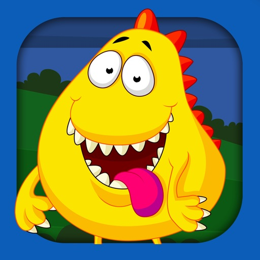 Monster Puzzle Games: Toddler Kids Learning Apps icon
