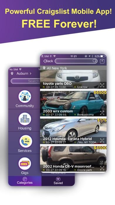 Mobile Pro for Craigslist - 二次取引、ホームケア、仕事のスクリーンショット1