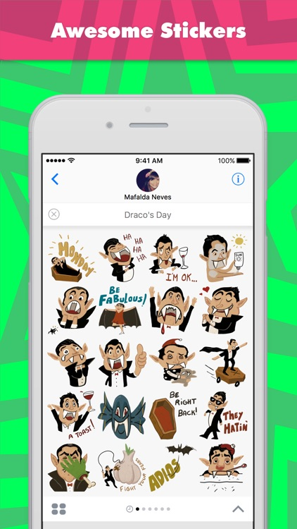 Draco's Day stickers by Mafalda Neves