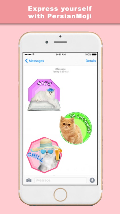 PersianMoji - Stickers & Keyboard for Persian Cats screenshot-3